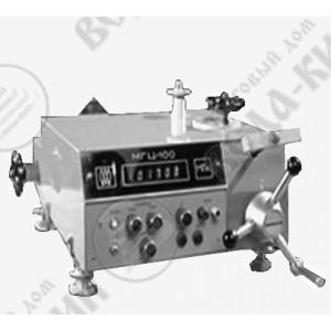 Манометр грузопоршневой цифровой МГЦ-60 и МГЦ-100