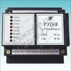 РЭЗЭ-8, Реле электронное защиты электродвигателей РЭЗЭ-8