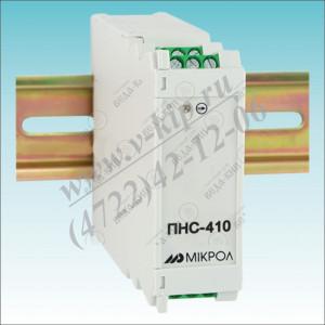 ПНС-410, Преобразователь постоянного напряжения и тока с питанием от токовой петли 4-20 мА ПНС-410