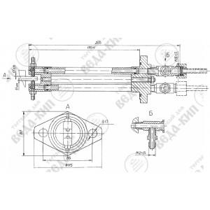 ДОС датчик осевого сдвига вала компрессора