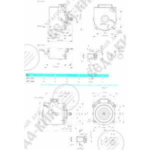 Электродвигатель рудничные тяговые ДРТ-10А1, ДРТ-10А2, ДРТ-13М, ДРТ-14, ДРТ-23,5