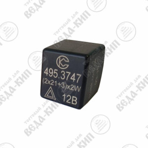 Прерыватель указателей поворота и аварийной сигнализации 495.3747