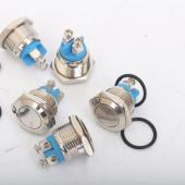 Кнопка металлическая TY 16-211A Scr