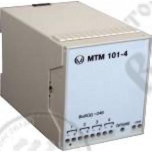 МТМ101-4 блок питания аналоговый четырехканальный