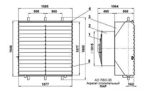 Схема Агрегата АО-ПВО.30