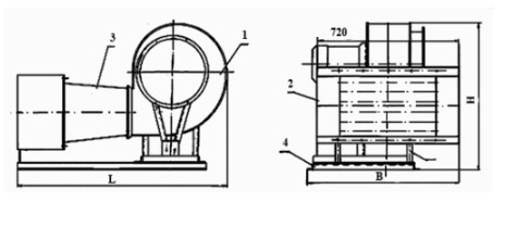 Схема Электроконвектора АО ЕВР 2,3