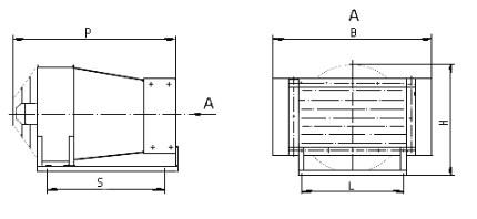 Схема Электроконвектора АО ЕВО5-25