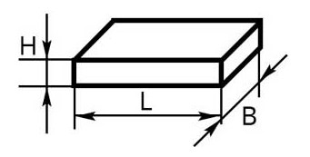 Схема Пластины 500х500х6
