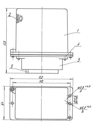 Схема Блока БДУ-4-3