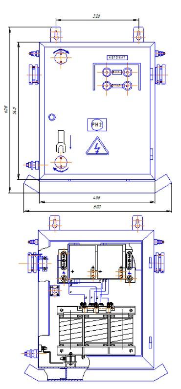 Схема Трансформатора ТОР