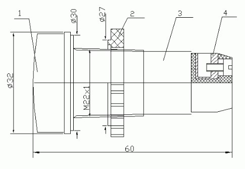 Схема Арматуры светодиодной АС-С-22