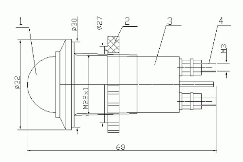 Схема Арматуры АС-С-22