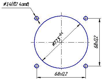 Разметка щита ЭВ0302