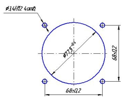 Схема Вольтметра ЭВ0302
