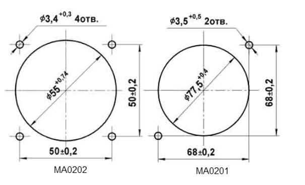 Схема Амперметров МА0202, МА0201