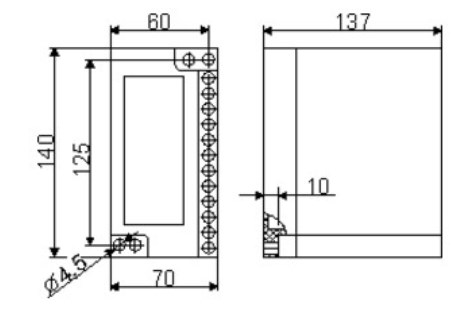Схема реле контроля изоляции ЕЛ-17
