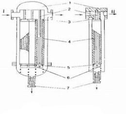Схема конструкции фильтра ФСВ-О-60