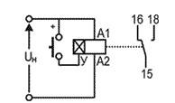Схема подключения Реле ВЛ-161