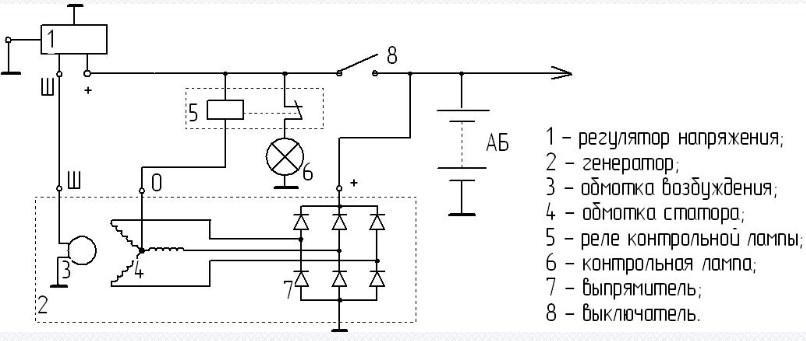 Схема подключения регулятора РР362Б1