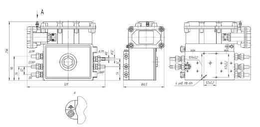 Схема Блока управления БУК-3