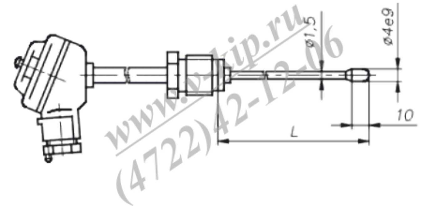 ТХА-1690В, ТХК-1690В термопреобразователи - габаритная схема 2