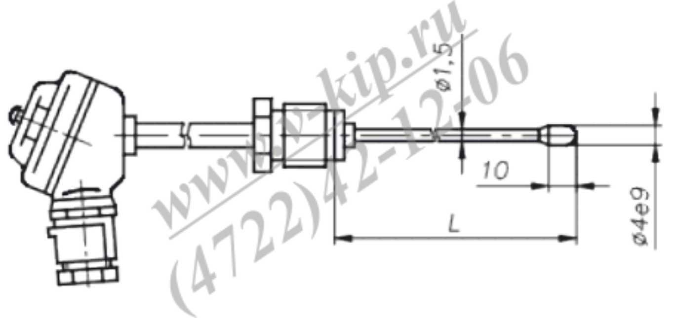 ТХА-1690В, ТХК-1690В термопреобразователи - габаритная схема 5