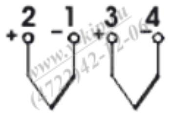 ТХА-1690В, ТХК-1690В термопреобразователи - схема подключения 2
