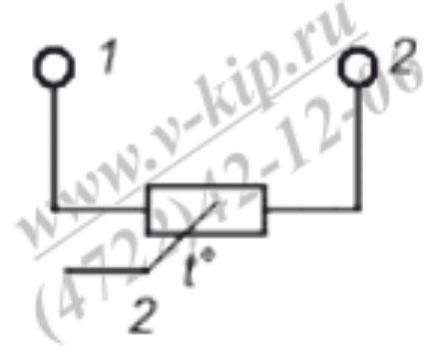 Схема подключения ТСМ-1290В