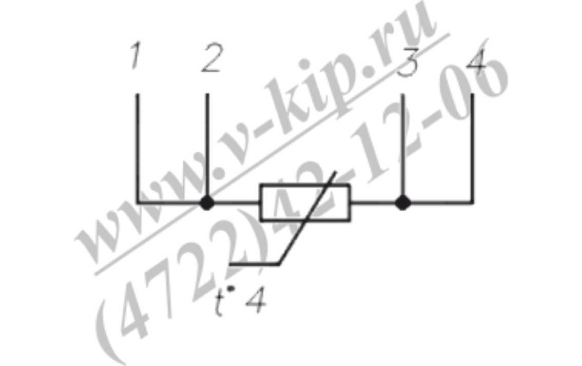 Термопреобразователь ТСП-1790В схема подключения